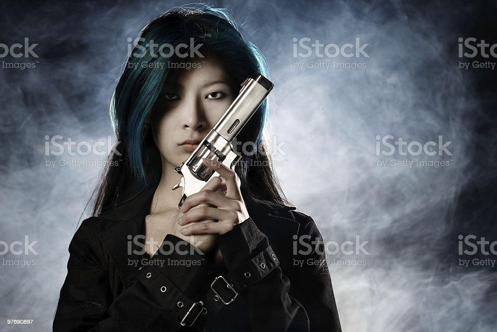 Femme Fatale stock photo