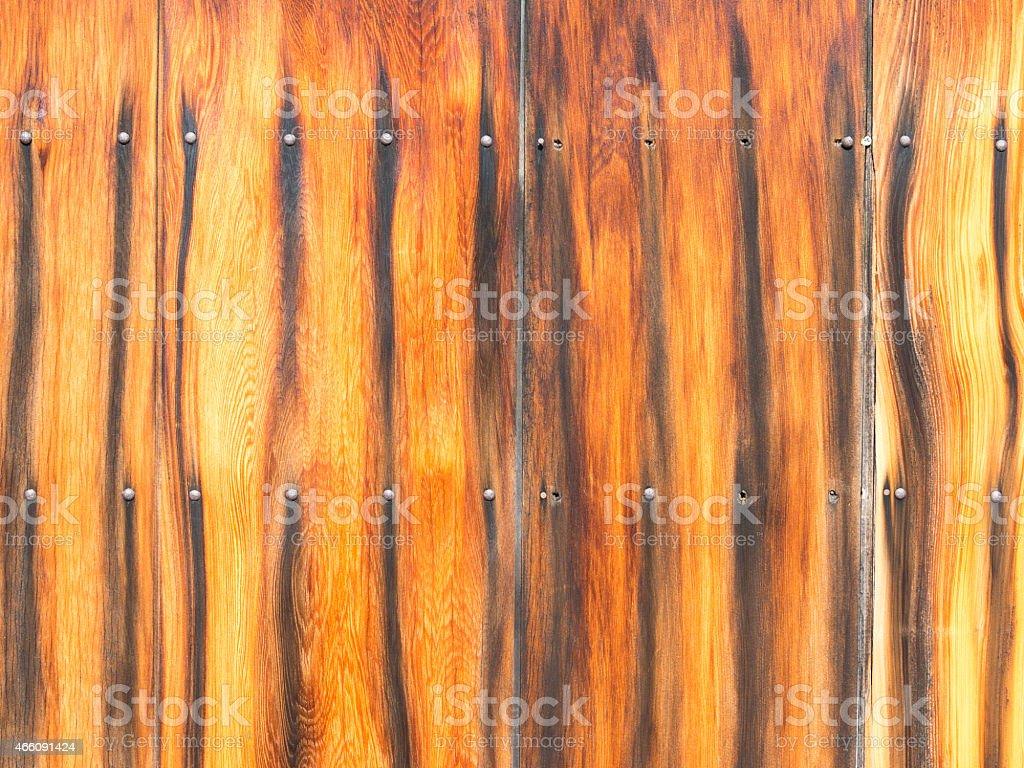 fence ebony stock photo