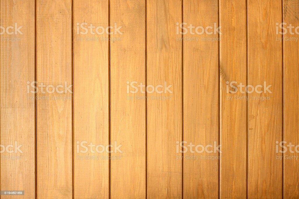 Clôture en bois fond de planches en gros plan vertical - Photo