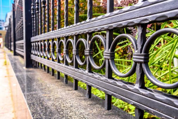 柵欄 - 鐵 個照片及圖片檔