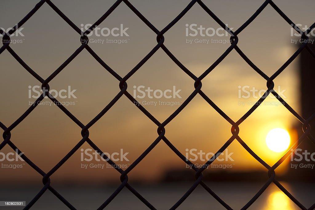 fence stock photo