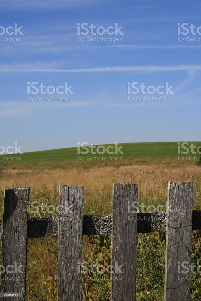 Fence royalty-free stock photo