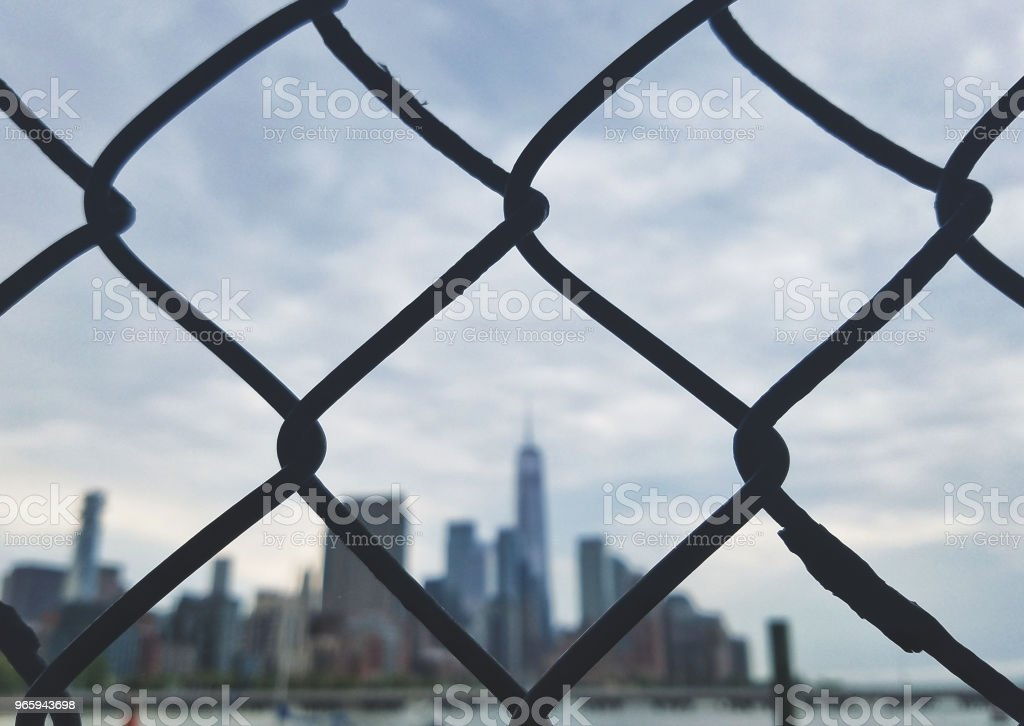 Fenced off - Royalty-free Chainlink Fence Stock Photo