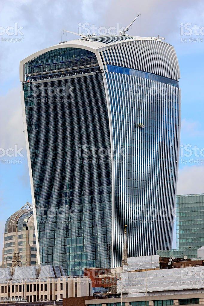20 Fenchurch Street ' Walkie-Talkie' building in London stock photo