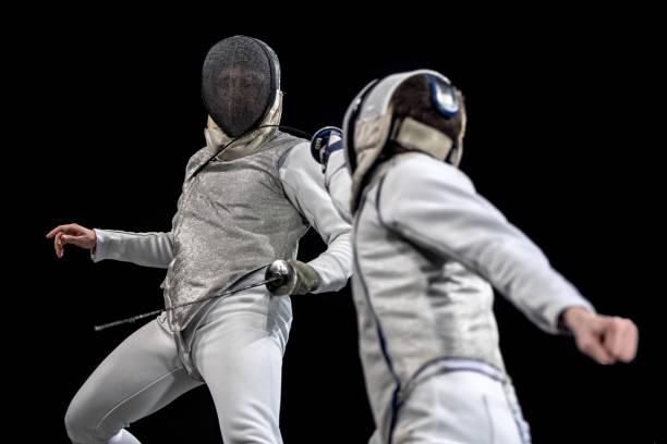 Fechtsport-Wettbewerb – Foto