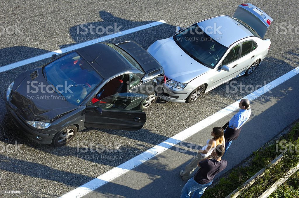 Fender Bender 5 stock photo
