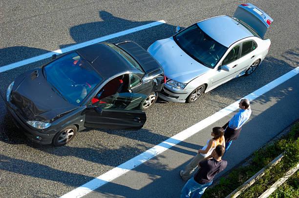 fender bender 5 - krockad bil bildbanksfoton och bilder
