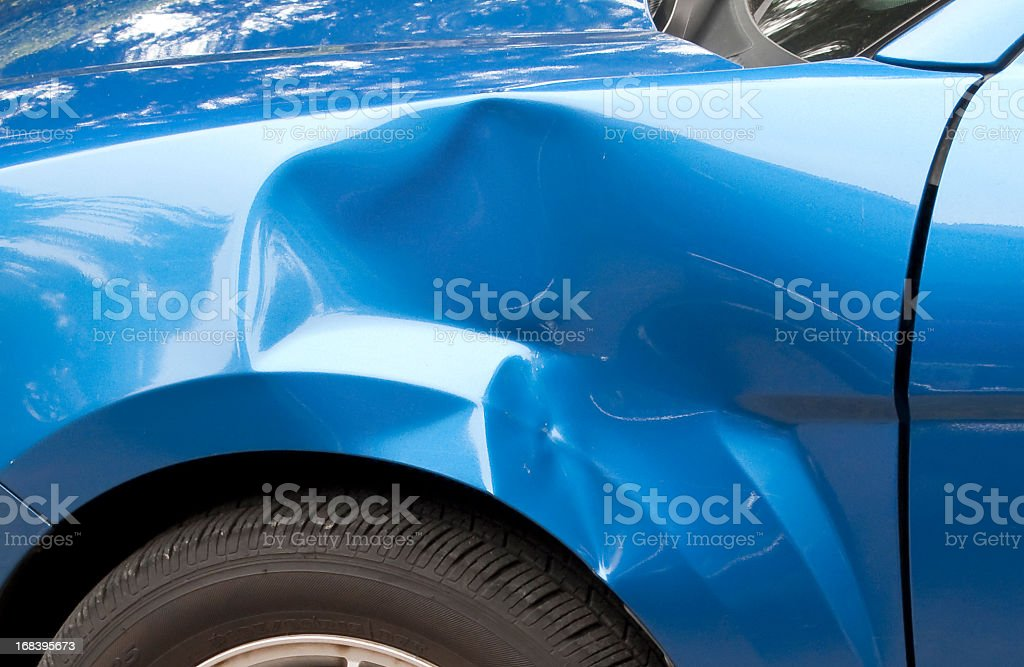 Fender Bender stock photo
