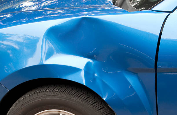 fender bender - dent stock pictures, royalty-free photos & images