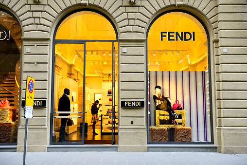 Fendi store in Florence