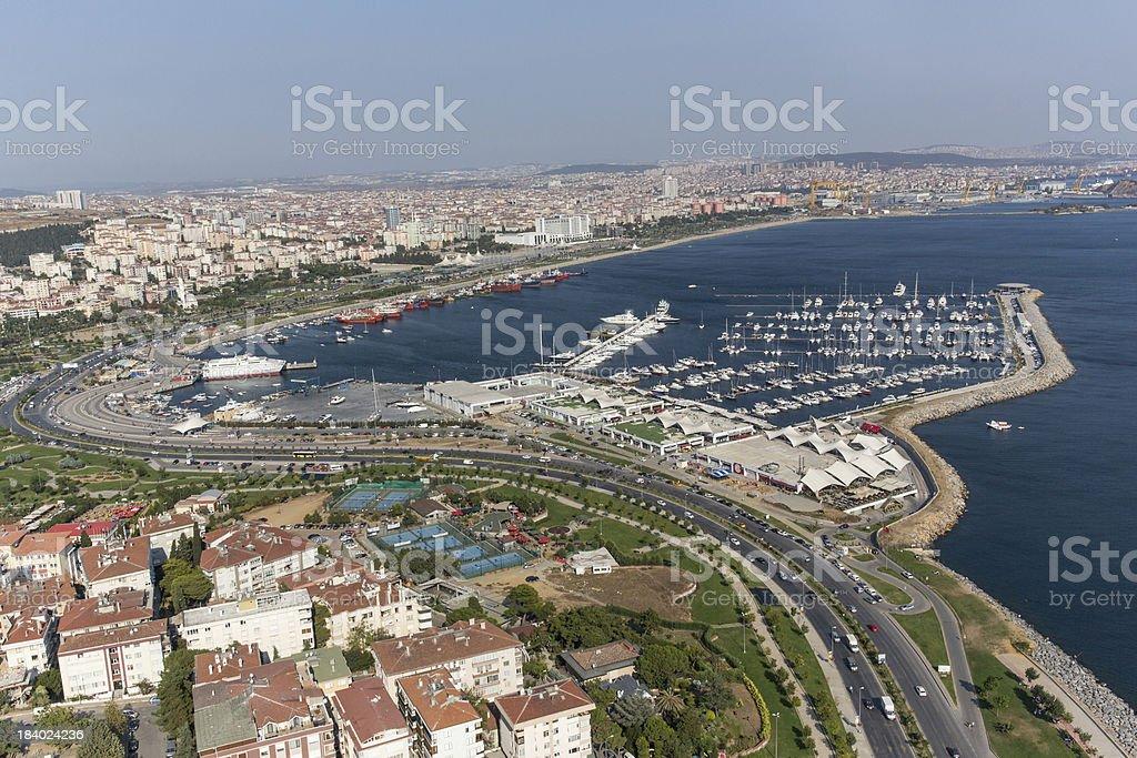 Fenerbahçe Marinas royalty-free stock photo