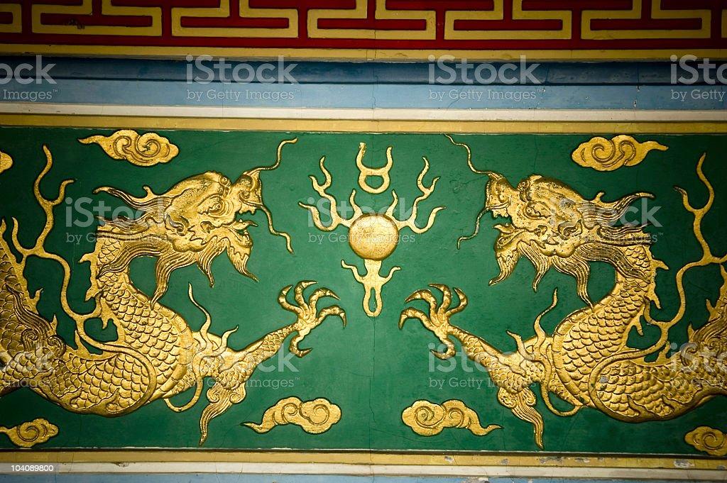 Feng Shui drogon royalty-free stock photo