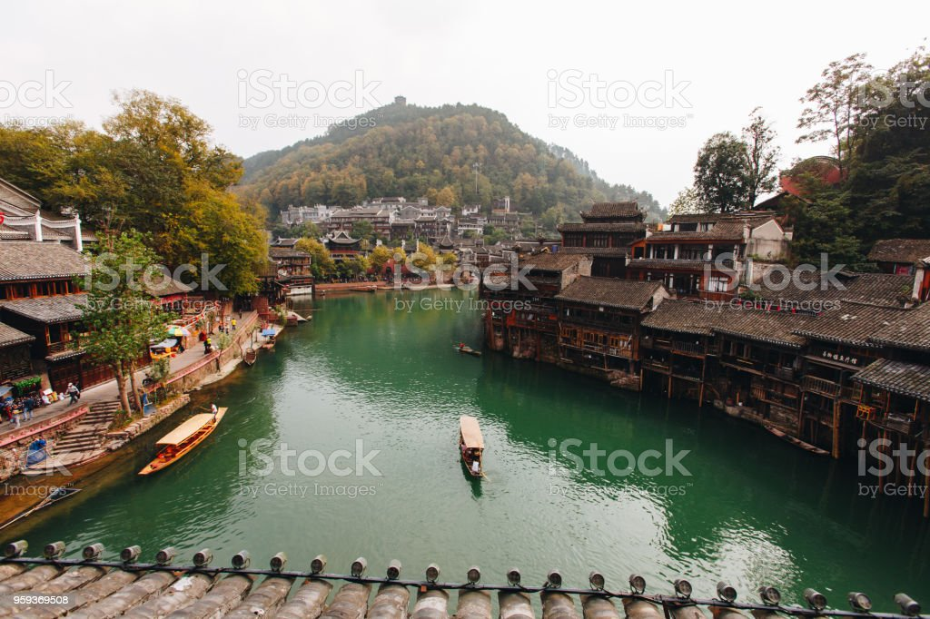 fenghuang ancient city hunan china stock photo more pictures of rh istockphoto com