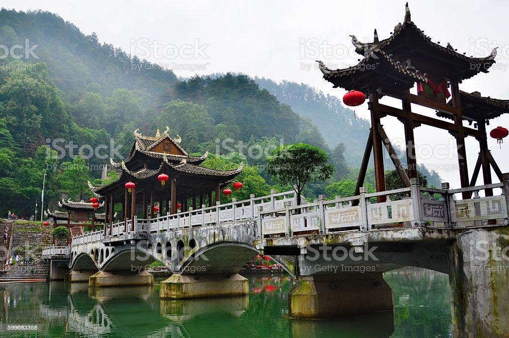 Fenghuang county in Hunan, China stock photo
