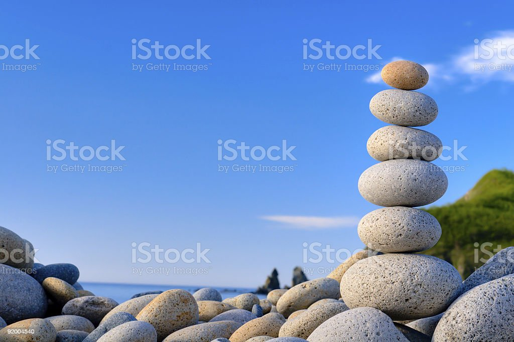 fengshui stones royalty-free stock photo