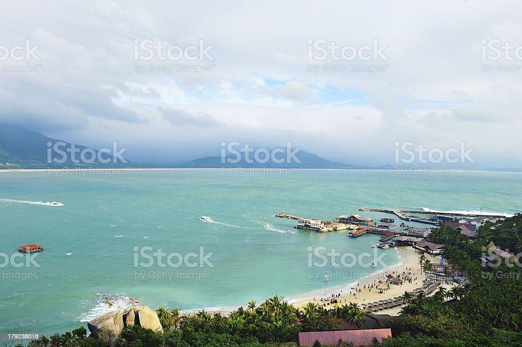 Fenjiezhou Island stock photo
