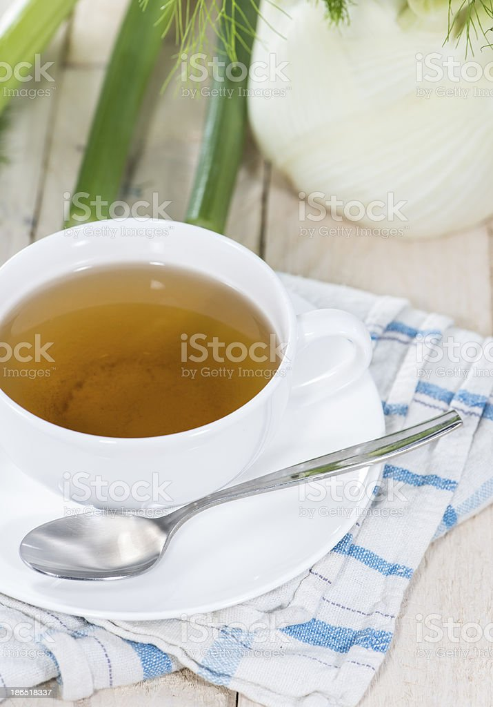 Fennel Tea royalty-free stock photo