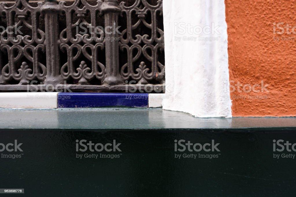 Fensterbank in der Altstadt von Sevilla, Spanien (Andalusien) - Royalty-free Architecture Stock Photo