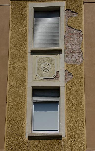 fenêtres verticales – Foto