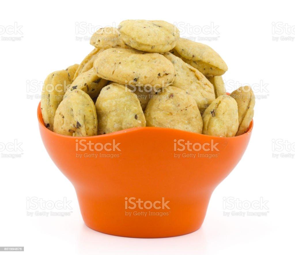 Fenugreek Chips stock photo