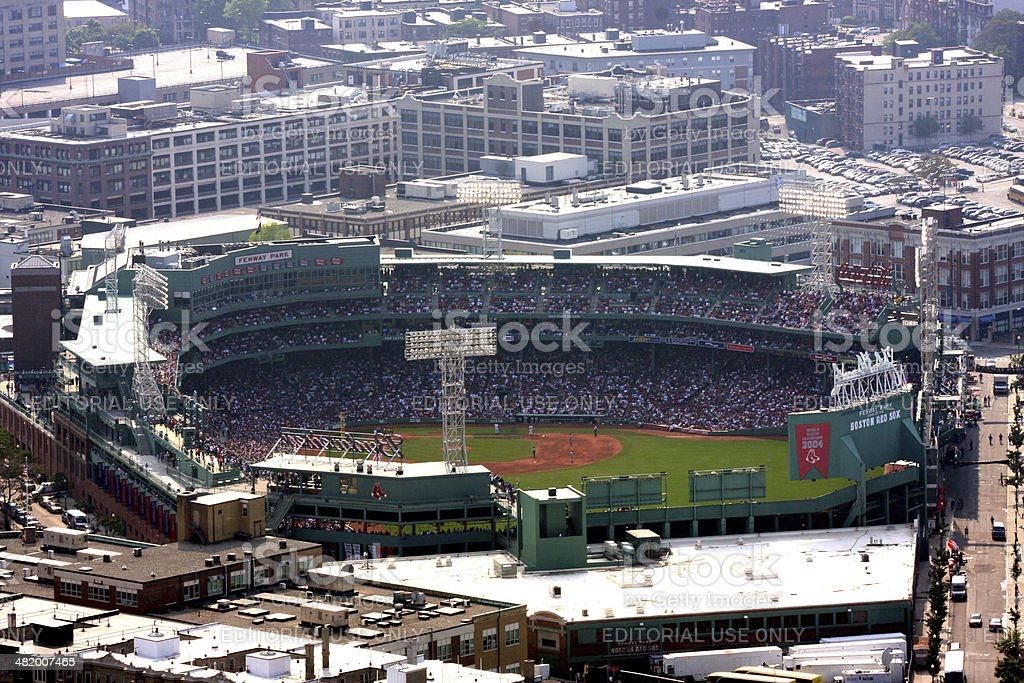 Fenway Park stock photo