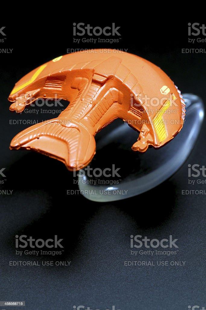 Ferengi Micro Machine royalty-free stock photo