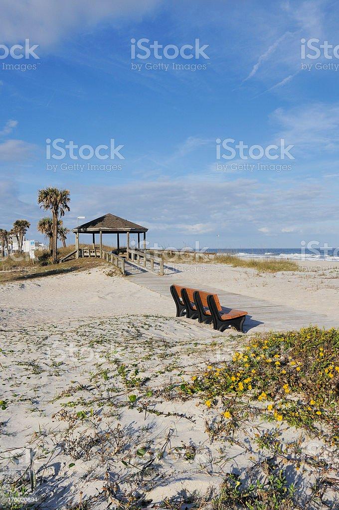 Fernandina Beach Amelia Island Florida stock photo