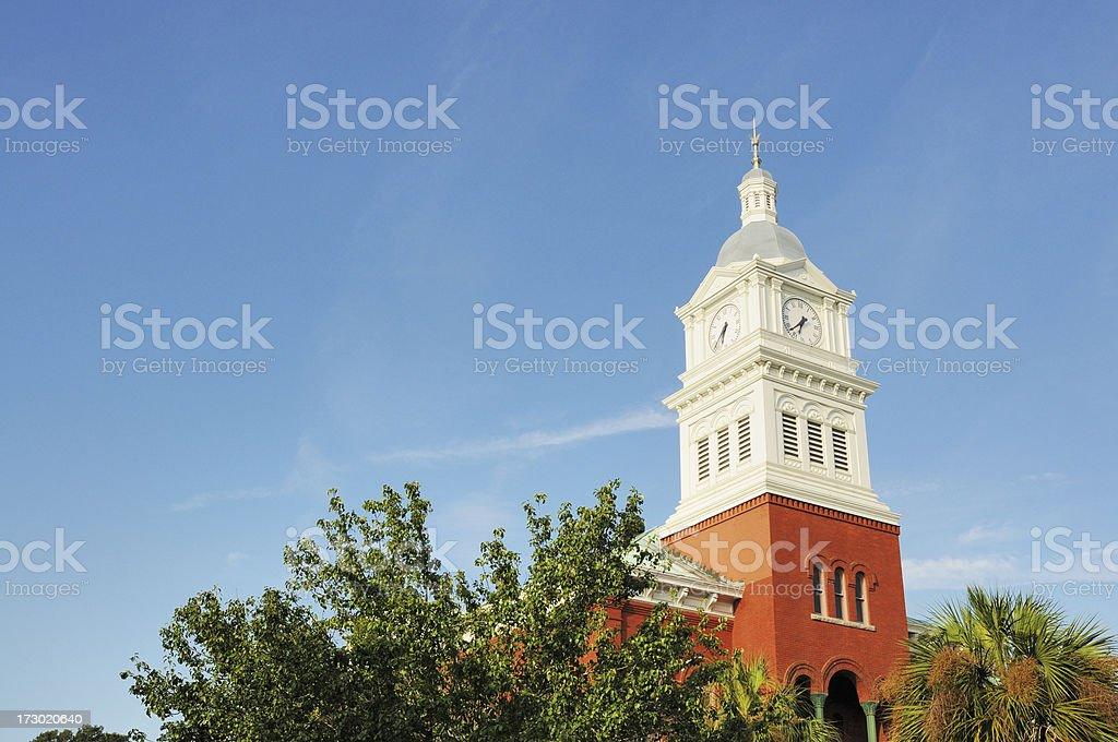 Fernandina Beach City Hall Amelia Island Florida stock photo