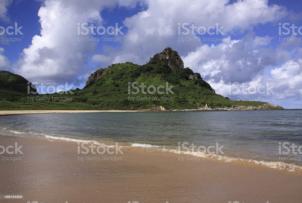 Fernando de Noronha Island, Brazil - South West Bay beach stock photo