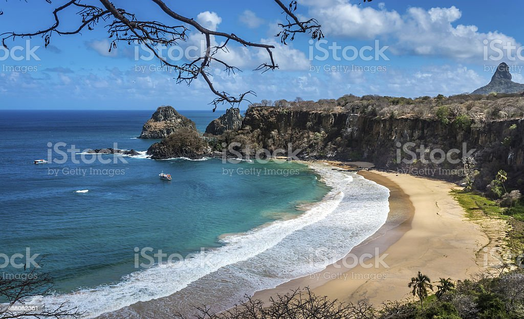 Fernando de Noronha, paradise of Brazil stock photo