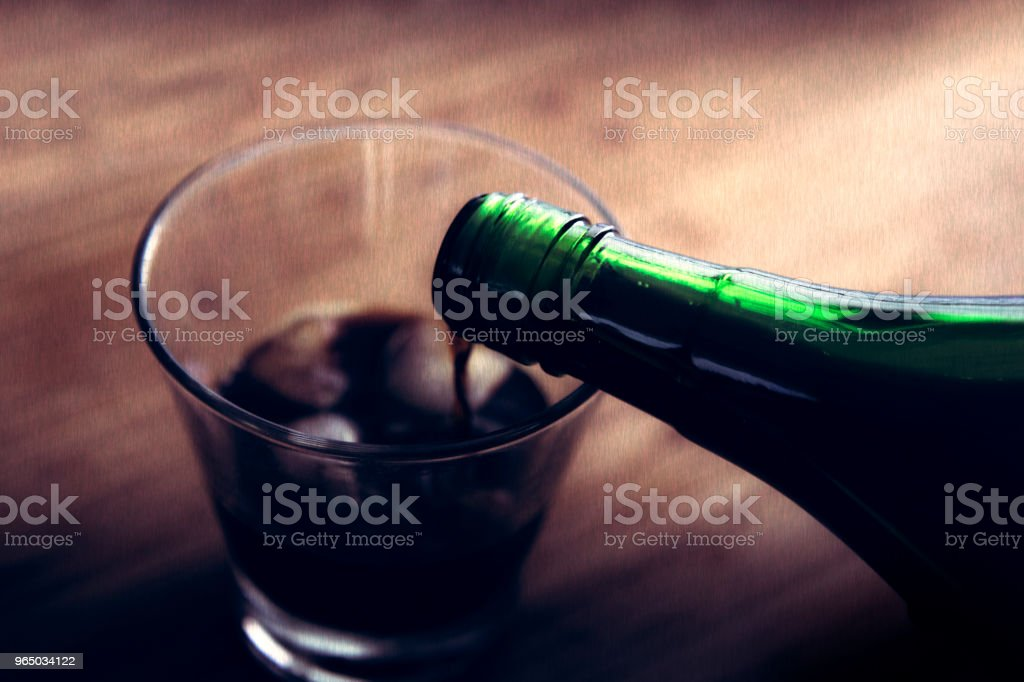 Fernet royalty-free stock photo