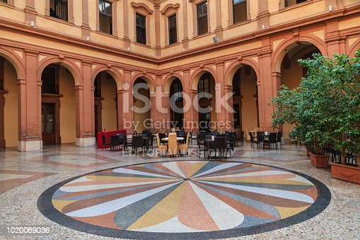 istock Ferrara, former stock exchange building (Emilia-Romagna, Italy) 1020089036