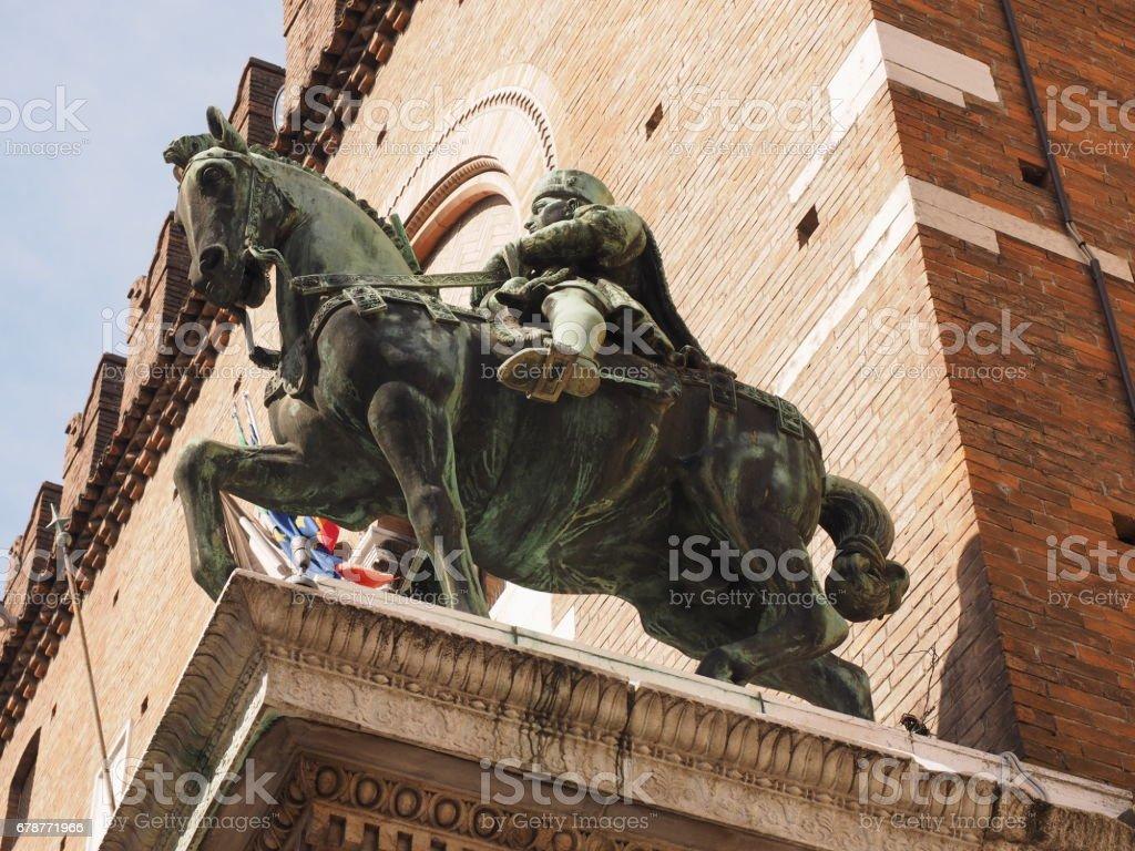 Ferrara, İtalya. At kemer royalty-free stock photo