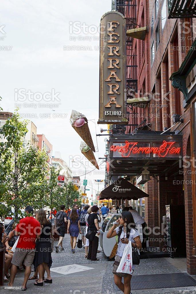 Ferrara Little Italy New York City Stock Photo & More