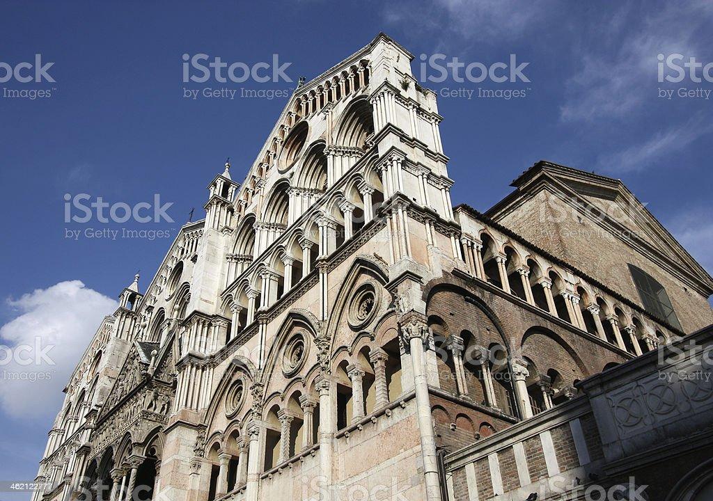 Ferrara royalty-free stock photo