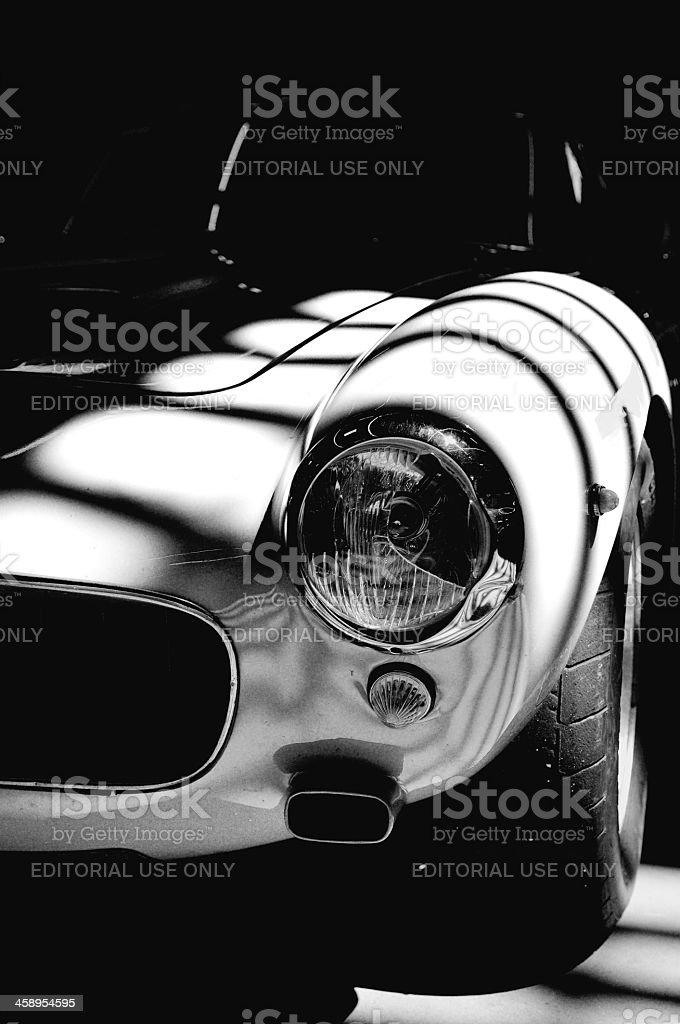Ferrari 250 GT SWB detail stock photo