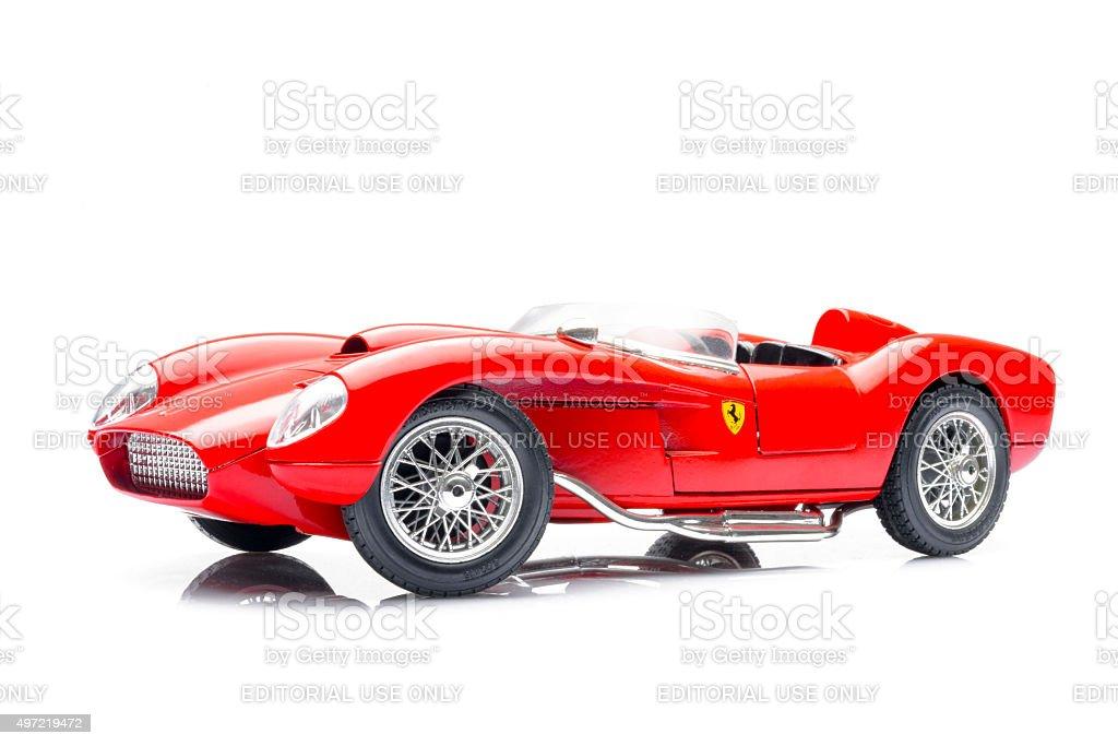 Ferrari 250 Testa Rossa Klassischen Rennwagenmodell Stockfoto Und Mehr Bilder Von 1950 1959 Istock