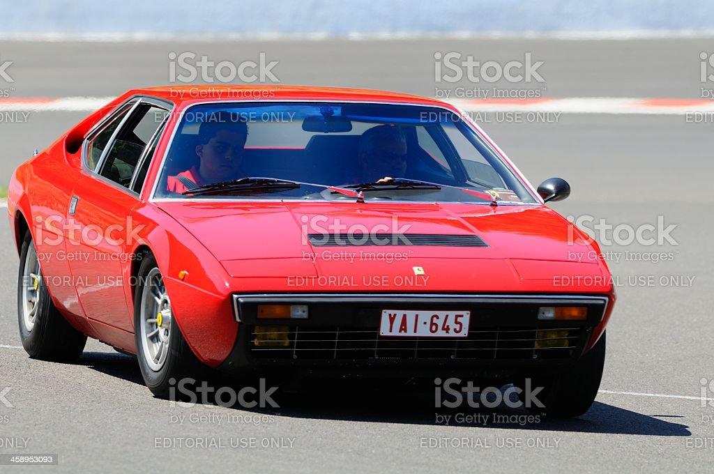 Ferrari 308 GT4 stock photo