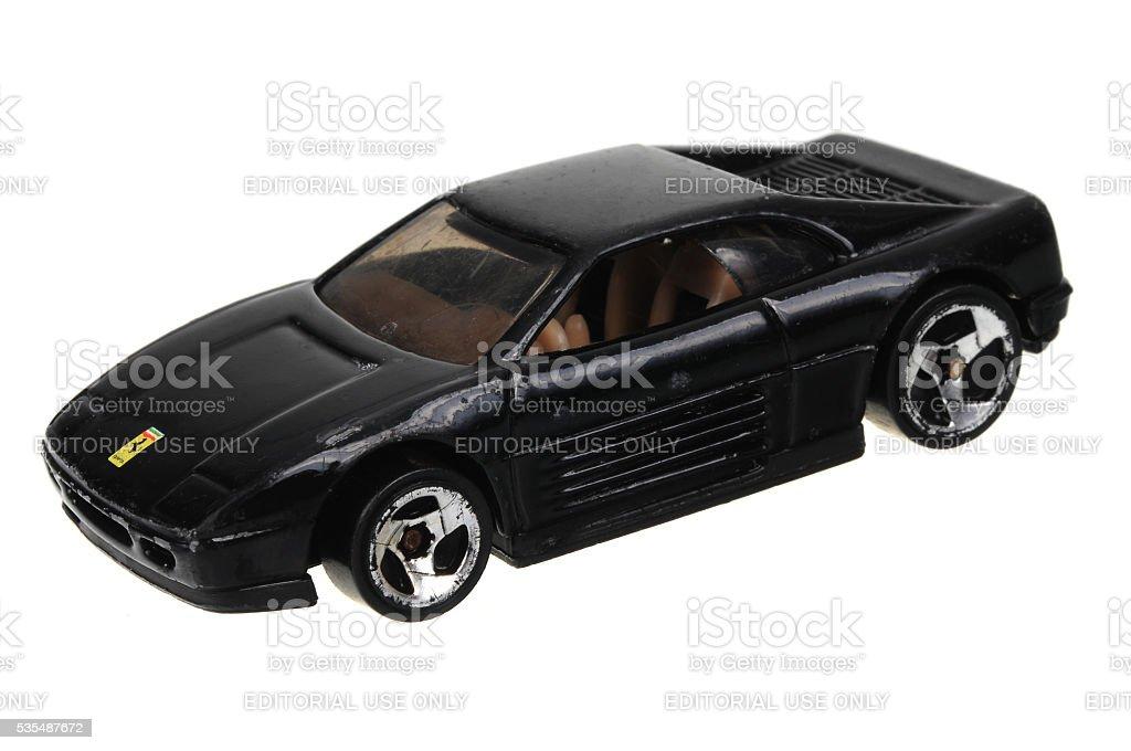 1990 Ferrari 348 Hot Räder Druckguss Spielzeugauto Stockfoto Und Mehr Bilder Von 1990 Istock