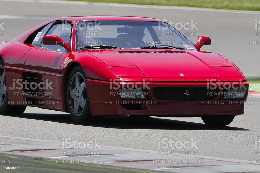 Ferrari 348 stock photo