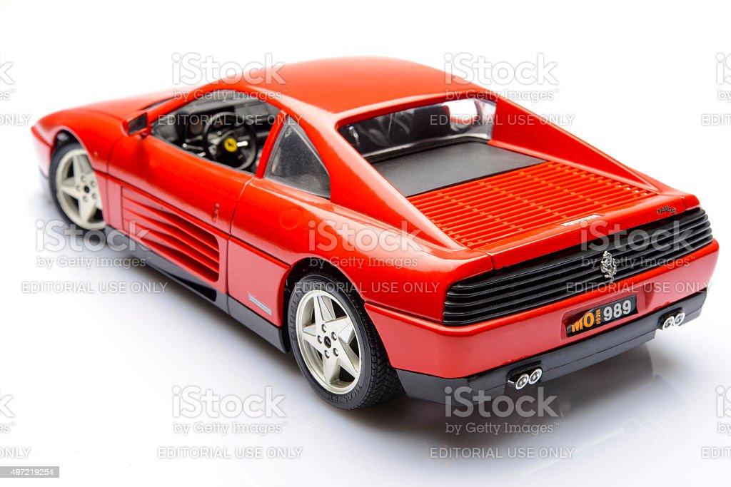 Ferrari 348 Tb Sportwagenmodell Stockfoto Und Mehr Bilder Von 2015 Istock