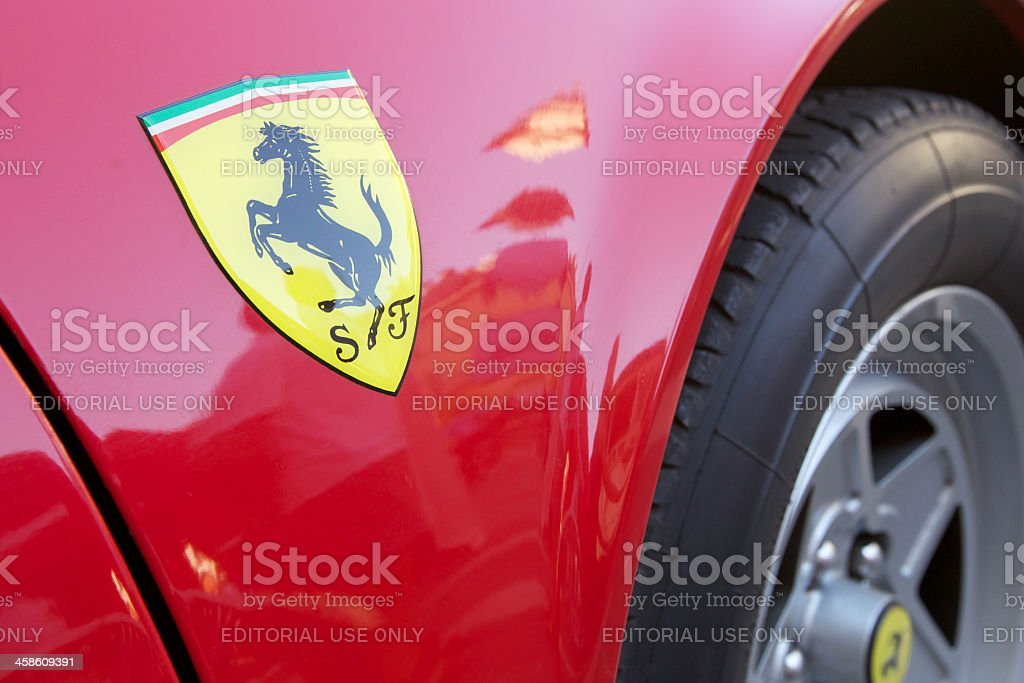 Ferrari 360 Modena stock photo
