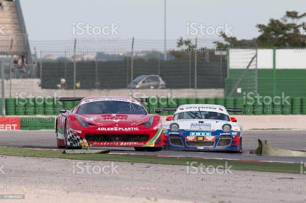 Ferrari 458 Italia Gt3 Race Car Stock Photo More Pictures Of