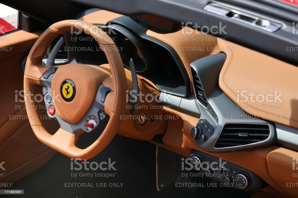 Ferrari 458 Italia Innen Stockfoto Und Mehr Bilder Von Armaturenbrett Istock