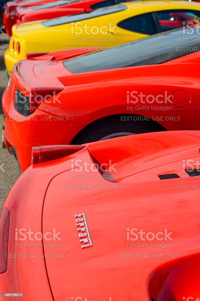 Ferrari 458 Italia stock photo