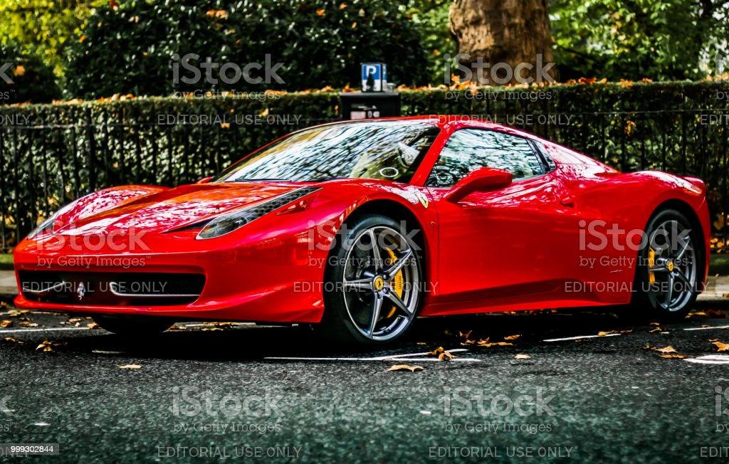 Ferrari 458 Spider Stockfoto Und Mehr Bilder Von Acht Zylinder Istock