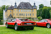 Ferrari 512 BB or Berlinetta Boxer and Ferrari 308 GTB