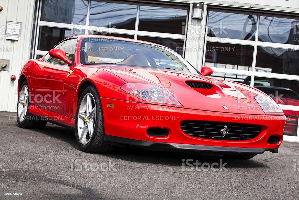 Ferrari 575 M Maranello Stockfoto Und Mehr Bilder Von Aufnahme Von Unten Istock