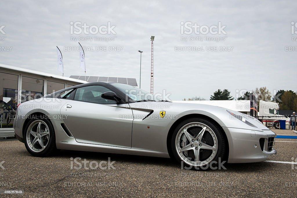 Ferrari 599 GTB Fiorano stock photo