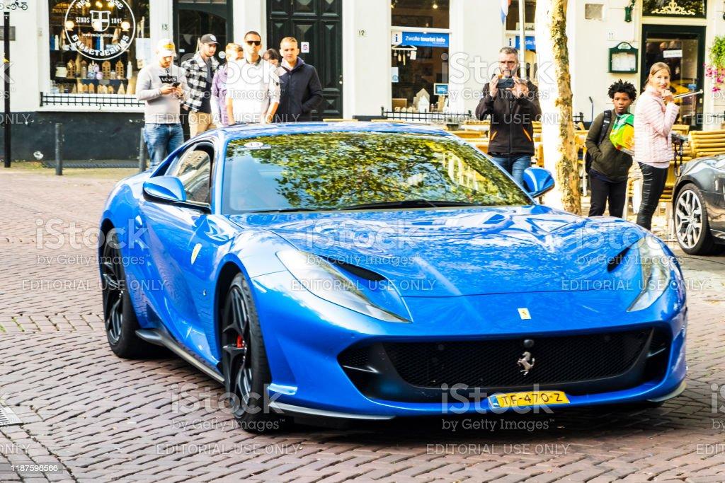 Ferrari 812 Superfast Italian Exclusive Sports Car Stock Photo Download Image Now Istock